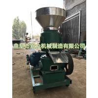 平模饲料颗粒机生产厂家 牛羊兔饲料颗粒机 用于加工牧草稻草