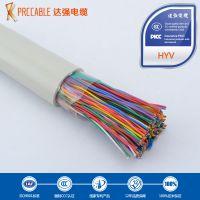 电缆厂家供应佛山达强室内阻燃大对数电缆HYV500*2*0.5电话线
