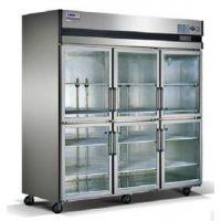 星星六门展示柜SG1.6L6 标准型B款 星星玻璃门冰箱