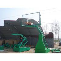 河北厂家专业生产电动液压篮球架 篮球架现货 价格优惠中