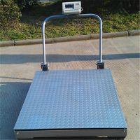 供应电子地磅3t移动式电子小地磅 定做3吨移动式地磅秤带轮毂的地磅
