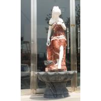 天和雕塑 西方人物喷泉 家庭装饰 石雕壁泉