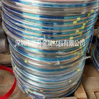 销售SUS301不锈钢带 特硬弹簧发条料 超薄钢带 精密电子