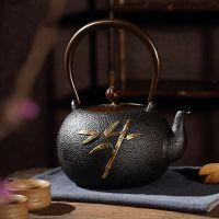 天津铁壶生产厂家国产铸铁茶壶品牌选龙秀堂