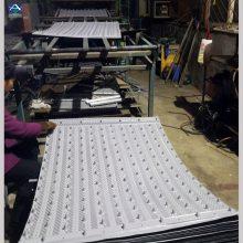 横流塔点波950*950填料 PVC冷却塔淋水片 荏原填料厚度 河北华强