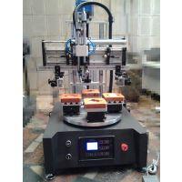 【转盘丝印机】-玻璃转盘丝印机-瓶子曲面丝印机