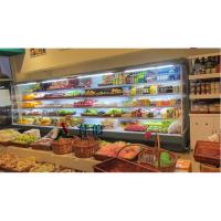 安徽佳伯专业生产风幕柜 保鲜展示柜 立式风冷敞开式保鲜柜