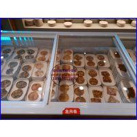 纸上烧烤店菜品展示冰柜 自助烤肉火锅保鲜柜 岳阳麻辣香锅店冷冻柜
