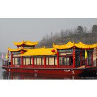 庆荣木船供应画舫餐饮船 旅游观光船 欧式手划船 贡多拉游船 景观妆饰船