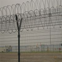 川森丝网 框架护栏网 机场围栏网 Y型安全防御护网