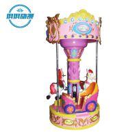 琪琪动漫产品儿童投币旋转木马游艺机 儿童乐园游乐机 亲子乐园设备 游戏机
