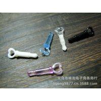 低价提供爆款仿金属带挂孔防尘塞3.5mm插孔通用DIY产品配件