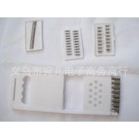 白色 塑料 多功能切菜器 切丝器 两元店义乌小商品厨房小工具批发