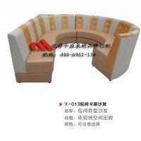 专业生产设计队伍,为您量身定制快餐店卡座桌椅