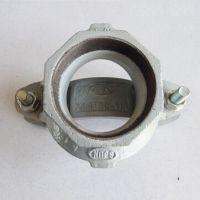 衬塑沟槽机械三通 君昊碳钢卡箍开孔丝接消防卡 给水饮用水消防衬塑管件