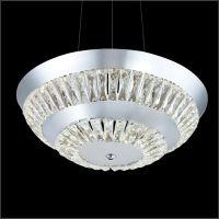 led圆形吊灯 酒店餐厅水晶吊灯 客厅卧室现代时尚灯卡骐灯饰照明