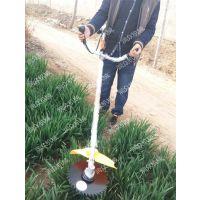 斜跨式二冲程割草机 园林草坪修剪机 轻松高效的打草机