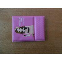 供应各种PVC卡套,存折套,漂亮女孩卡套,皮革证件