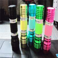 批发 迷你型小电筒/强光LED手电筒  铝合金材质 夜光 质量保证