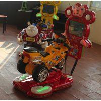 2015新款3D摩托液晶屏电动摇摇车摇摆机儿童投币赛车游戏机