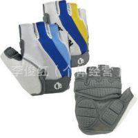 一字米骑行手套   硅胶手套   半指手套