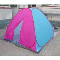 3-4人自动折叠钢丝帐篷 户外野营帐篷 免搭建速开高品质帐篷特价