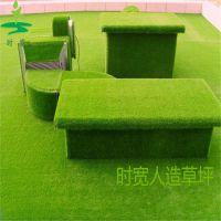 养眼苹果绿装饰卷丝人造草坪,时宽厂家直销橄榄绿高尔夫球人工草皮,游乐场塑料草坪