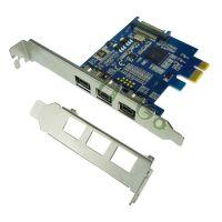 供应PCI-E转1394B卡 高清DV视频采集卡 1394采集卡 火线800接声卡正品