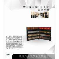 厂家专业定生产(不锈钢)服装展柜-展台-高底柜-流水台