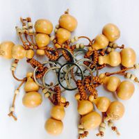 天然十二生肖葫芦手机挂件 创意钥匙扣手机小饰品批发 厂家直销