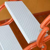 沈阳艾达家用复式阁楼伸缩楼梯价格,室内外侧装壁挂楼梯