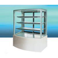 冠捷制冷-HE型豪华型全透明蛋糕展示柜