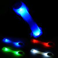 自行车反光辐条 山地车灯 钢丝卡条反光辐条灯 骑行装备 警示条