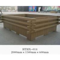 新疆塑木型材、新疆塑木花箱、PVC塑木花箱厂家、发泡花箱价格