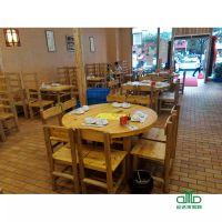 运达来厂家直销全柏木实木餐桌椅组合 餐台饭桌小户型餐厅家具中式方桌