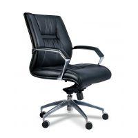 北京黎明LM-GB22型德国进口优质半青皮办公椅厂家直销