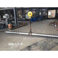 塑料再生颗粒机械 塑料造粒机螺杆 各种片料膜料造粒螺杆