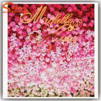 仿真花墙 婚纱摄影婚庆背景墙 结婚挂壁墙 玫瑰花人造植物