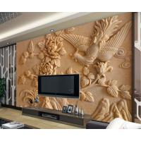广州艺术背景墙彩雕机 全自动精雕玻璃爱普生七色UV万能打印机