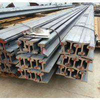 河北钢轨价格 QU120国标起重机轨 材质U71Mn 亚重 轨道夹板压板