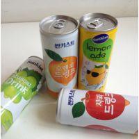 韩国新奇士/sunkist青提子汁饮料240mlX30罐/箱 批发