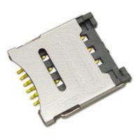 翻盖式/掀盖式micro SIM卡座SMO-1512