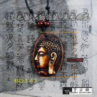 阿弥陀佛头像 牦牛骨雕项链吊坠挂件旅游纪念饰品厂家直销批发