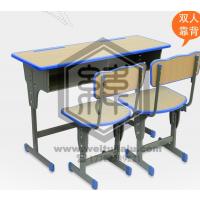 单人课桌椅,天津生产课桌椅,课桌椅图片尺寸