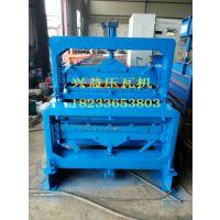 河北沧州兴益压瓦机厂专业制造双层压瓦机价格合理销售电话18233653803