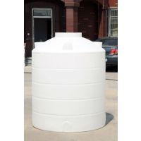 【水箱批发】孝感1吨PE塑料水桶储水桶耐酸碱化工圆桶