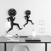 供应亚克力静音挂钟/时尚创意客厅时钟表/亚克力工艺钟挂钟/工艺钟价格/优质工艺钟批发