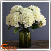 厂家直销仿真植物装饰花 人造绣球花 仿真绣球花 永生花