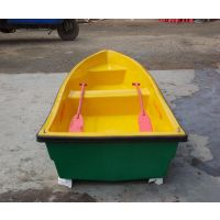 订做小渔船 玻璃钢材质小渔船 玻璃钢渔船