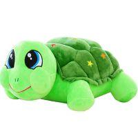 节日礼品填充毛绒玩具可爱乌龟玩偶儿童睡觉抱枕厂家设计打样